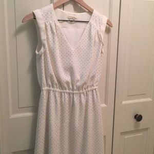 Maison Jules cream dress